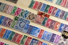 Συλλογή γραμματοσήμων Στοκ φωτογραφία με δικαίωμα ελεύθερης χρήσης