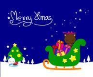 Συλλογή, διάνυσμα και απεικονίσεις στοιχείων Χριστουγέννων Στοκ Φωτογραφίες
