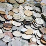 συλλογή ελληνικά νομισ& Στοκ φωτογραφία με δικαίωμα ελεύθερης χρήσης