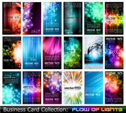 Συλλογή επαγγελματικών καρτών: διανυσματική απεικόνιση