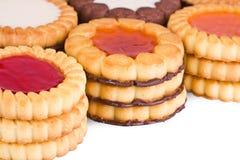 συλλογή κέικ που απομο&n Στοκ εικόνες με δικαίωμα ελεύθερης χρήσης