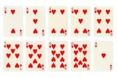 συλλογή καρτών Στοκ εικόνα με δικαίωμα ελεύθερης χρήσης