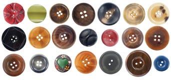 συλλογή κουμπιών διάφορη Στοκ εικόνες με δικαίωμα ελεύθερης χρήσης