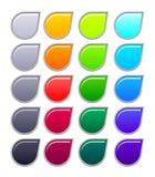 συλλογή κουμπιών διανυσματική απεικόνιση