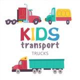 Συλλογή μεταφορών παιδιών ελεύθερη απεικόνιση δικαιώματος