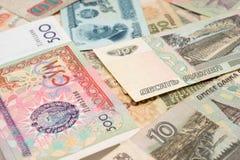 συλλογή νομισματική Στοκ εικόνες με δικαίωμα ελεύθερης χρήσης