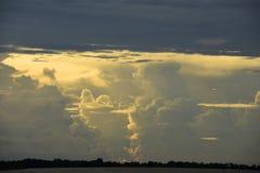 Συλλογή σύννεφων θύελλας Στοκ Φωτογραφίες