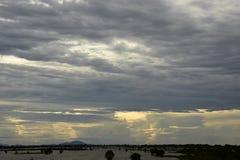 Συλλογή σύννεφων θύελλας Στοκ εικόνες με δικαίωμα ελεύθερης χρήσης