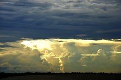 Συλλογή σύννεφων θύελλας Στοκ φωτογραφίες με δικαίωμα ελεύθερης χρήσης