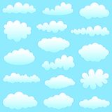 συλλογή σύννεφων Στοκ φωτογραφίες με δικαίωμα ελεύθερης χρήσης