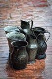συλλογή της βροχής Στοκ εικόνα με δικαίωμα ελεύθερης χρήσης
