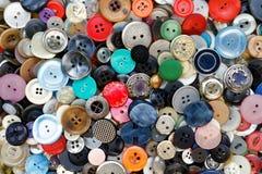 Συλλογή της Νίκαιας με τα κουμπιά, παλαιός και όμορφος Στοκ Φωτογραφία