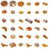 Συλλογή του φρέσκου αρτοποιείου Στοκ Εικόνες