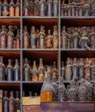 Συλλογή των ηλικιωμένος-παλαιών μπουκαλιών Στοκ εικόνες με δικαίωμα ελεύθερης χρήσης