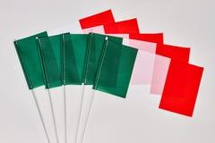 Συλλογή των ιταλικών σημαιών Στοκ Εικόνες