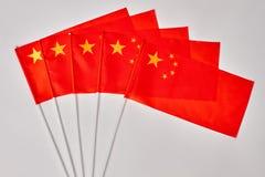 Συλλογή των κινεζικών σημαιών Στοκ Εικόνες