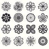 Συλλογή των λουλουδιών Στοκ εικόνες με δικαίωμα ελεύθερης χρήσης