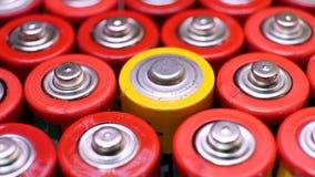 Συλλογή των παλαιών χρησιμοποιημένων μπαταριών Αντιαεροπορικού Πυροβολικού φιλμ μικρού μήκους