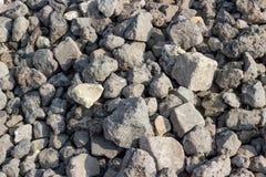 Συλλογή υποβάθρων - τραχιά σύσταση πετρών Στοκ εικόνες με δικαίωμα ελεύθερης χρήσης