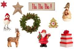 συλλογή Χριστουγέννων Στοκ φωτογραφία με δικαίωμα ελεύθερης χρήσης