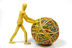 συλλογή rubberband Στοκ Φωτογραφίες