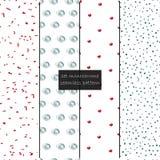 Συλλογή swatches των σχεδίων της Μέμφιδας - άνευ ραφής Εορταστικές συστάσεις απεικόνιση αποθεμάτων