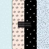 Συλλογή swatches των σχεδίων της Μέμφιδας - φρέσκια κρητιδογραφία Εορταστικές συστάσεις διανυσματική απεικόνιση