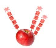 συμβαλλόμενα μέρη μήλων Στοκ Φωτογραφίες
