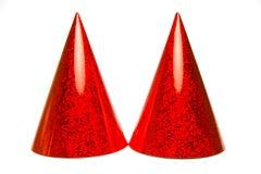 συμβαλλόμενο μέρος καπέλων Στοκ εικόνες με δικαίωμα ελεύθερης χρήσης