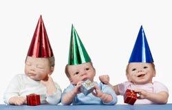 Συμβαλλόμενο μέρος κουκλών μωρών Στοκ φωτογραφία με δικαίωμα ελεύθερης χρήσης