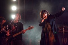 Συμβαλλόμενο μέρος μουσικής Στοκ Φωτογραφίες