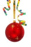 συμβαλλόμενο μέρος στοιχείων Χριστουγέννων Στοκ εικόνα με δικαίωμα ελεύθερης χρήσης