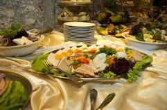 συμβαλλόμενο μέρος τροφί Στοκ Φωτογραφίες
