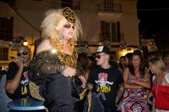 Συμβαλλόμενο μέρος Ibiza στοκ φωτογραφίες με δικαίωμα ελεύθερης χρήσης