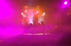 συμβαλλόμενο μέρος s του DJ χορού Στοκ φωτογραφία με δικαίωμα ελεύθερης χρήσης