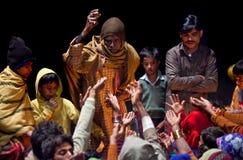 συμβολή Ινδία prasad Varanasi Στοκ Εικόνες