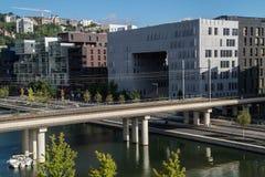 Συμβολή, Λυών, Ροδανός, Γαλλία Στοκ εικόνα με δικαίωμα ελεύθερης χρήσης
