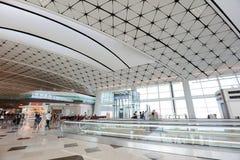 Συμβολή ποταμών κέντρων ο αερολιμένας του Chek Lap Kok Στοκ Εικόνα