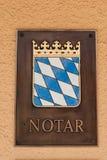 Συμβολαιογράφος στη Βαυαρία στοκ εικόνες