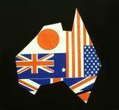 Συμβολική εικόνα της Αυστραλίας Στοκ Εικόνες