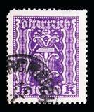 Συμβολισμός: σφυρί & λαβίδες, συμβολικά θέματα serie, circa 1923 στοκ φωτογραφία με δικαίωμα ελεύθερης χρήσης