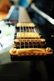 συμβολοσειρές κιθάρων Στοκ φωτογραφία με δικαίωμα ελεύθερης χρήσης