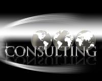 συμβουλευτικός κόσμο&sig απεικόνιση αποθεμάτων