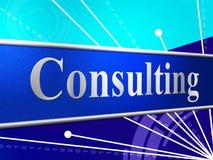 Συμβουλευθείτε τα μέσα διαβούλευσης επιδιώκει τις συμβουλές και παρέχει διανυσματική απεικόνιση
