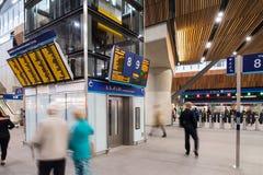 Συμβολή ποταμών του σταθμού γεφυρών του Λονδίνου Στοκ εικόνες με δικαίωμα ελεύθερης χρήσης