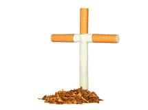 Συμβολικός τάφος του καπνού στοκ φωτογραφία