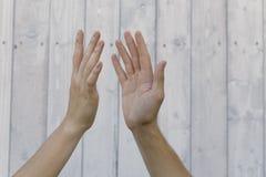 Συμβολισμός των χεριών στοκ εικόνα