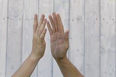 Συμβολισμός των χεριών στοκ φωτογραφίες με δικαίωμα ελεύθερης χρήσης