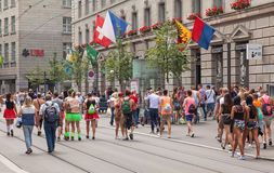 Συμμετέχοντες παρελάσεων οδών Στοκ Φωτογραφίες