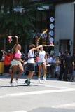 Συμμετέχοντες παρελάσεων υπερηφάνειας LGBT στην πόλη της Νέας Υόρκης Στοκ φωτογραφία με δικαίωμα ελεύθερης χρήσης